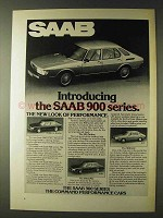 1979 Saab 900-Series Ad - Turbo, 900 GLE, 900 EMS