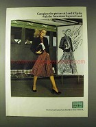 1979 American Express Ad - Complete at Lord & Taylor