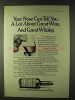 1979 Old Forester Whisky Ad - Your Nose Can Tell A Lot