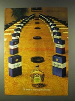 1979 Seagram's Crown Royal Whisky Ad - Very Good Year