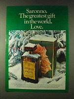 1979 Amaretto di Saronno Ad - Greatest Gift in World