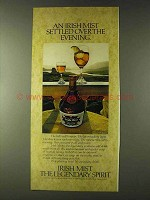 1979 Irish Mist Liqueur Ad - Settled Over the Evening