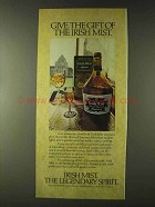 1979 Irish Mist Liqueur Ad - Give The Gift Of