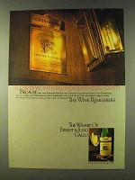 1979 Ernest & Julio Gallo Chardonnay Wine Ad - Because