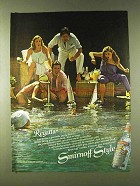 1979 Smirnoff Vodka Ad - Regatta