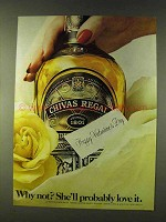 1979 Chivas Regal Scotch Ad - Happy Valentine's Day