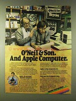 1979 Apple Computers Ad - O'Neil & Son