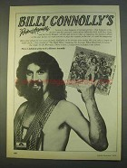 1979 Billy Connolly's Riotous Assembly Album Ad