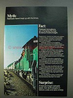 1979 Association of American Railroads Ad - The Times