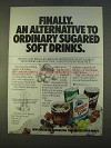 1979 Shasta Soft Drinks Ad - Finally an Alternative