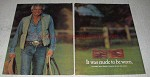 1979 Polo Ralph Lauren Western Collection Ad - Be Worn