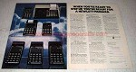 1978 Hewlett-Packard Calculator Ad - HP-33E HP-67 HP-97