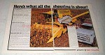 1978 Sperry New Holland TR70 Combine Ad - The Shouting