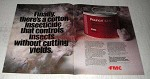 1978 FMC Pounce 3.2 EC Insecticide Ad - Cotton