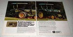 1978 John Deere 850 and 950 Tractors Ad - Reputation
