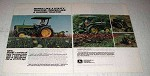 1978 John Deere 850 and 950 Tractors Ad - Works Like