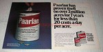 1978 Elanco Paarlan Ad - Less 20 Cents a Day Per Acre