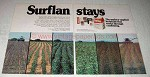 1978 Elanco Surflan Ad - Suflan Stays