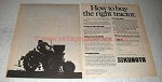 1978 Kubota Tractor Ad - How To Buy The Right Tractor