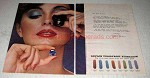 1978 Revlon Colorfrost Eyeshadow Ad