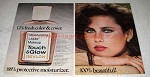 1978 Revlon Touch & Glow Moisturizing Liquid Makeup Ad