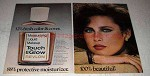 1976 Revlon Touch & Glow Moisturizing Liquid Makeup Ad