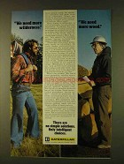 1979 Caterpillar Tractor Co. Ad - Need More Wilderness