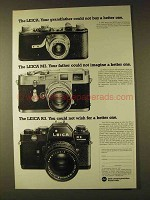 1979 Leica R3 Camera Ad - Could Not Buy Better