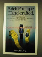 1979 Patek Philippe Golden Ellipse Watch Ad