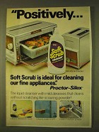 1979 Clorox Soft Scrub Cleanser Ad - Positively