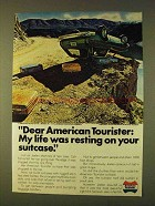 1979 American Tourister Suitcase Ad - My Life Resting
