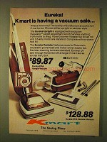 1979 Kmart Eureka Model 676A and 671A Vacuums Ad