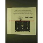 1979 Henredon Pan Asian Collection Console Ad