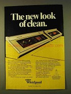 1979 Whirlpool Washer & Dryer Ad - New Look of Clean