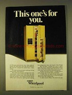 1979 Whirlpool Serva-Door Refrigerator Ad - For You