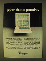 1979 Whirlpool Dishwasher Ad - More Than a Promise