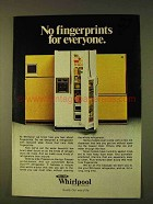 1979 Whirlpool Refrigerators Ad - No Fingerprints