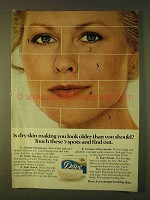 1979 Dove Soap Ad - Is Dry Skin Making You Look Older