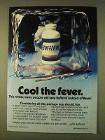 1979 Bufferin Pain Reliever Ad - Cool the Fever