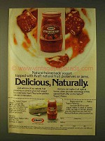 1979 Kraft Strawberry Preserves Ad - Delicious