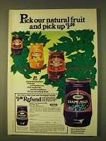 1979 Kraft Grape Jelly Ad - Pick Our Natural Fruit