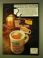 1979 Hershey's Hot Cocoa Mix Ad - It's Hot Stuff