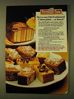 1979 Pepperidge Farm Cakes Ad - Crackle Pound Cake