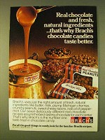 1979 Brach's Chocolate Candy Ad - Fresh Natural
