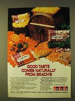 1979 Brach's Candy Ad - Good Taste Comes Naturally