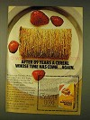 1979 Nabiso Shredded Wheat Ad - After 89 Years