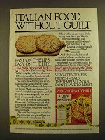 1979 Weight Watchers Frozen Meals Ad - Without Guilt