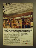 1979 Armstrong Royal Oak Ceiling Tile Ad - Cover it Up