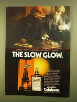 1979 Cointreau Liqueur Ad - The Slow Glow