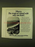 1979 Marriott's Marco Beach Hotel & Villas Ad